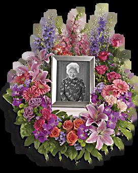 In Memoriam Wreath Sympathy Arrangement