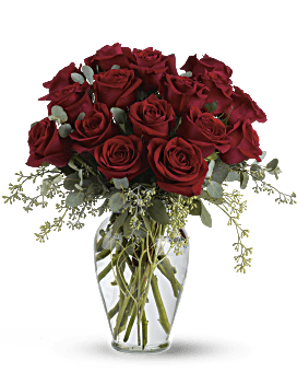 Full Heart - 16 Premium Red Roses Bouquet