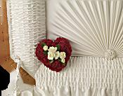 A Devoted Heart Casket Insert Flowers