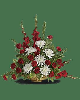 Enduring Grace Basket Arrangement