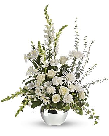 serene reflections bouquet teleflora