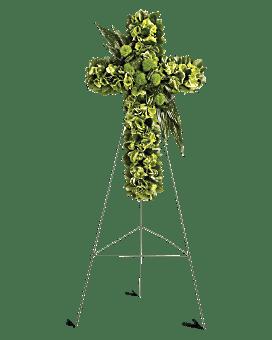 Garden Cross Specialty Arrangement