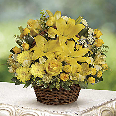 Basket Full Of Wishes Teleflora