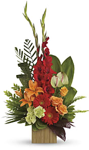 Heart's Companion Bouquet  Flowers