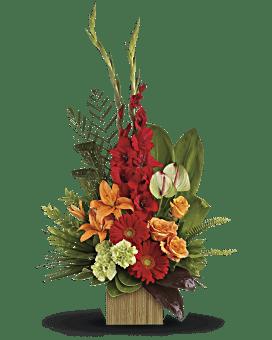 Heart's Companion Bouquet by Teleflora Flower Arrangement