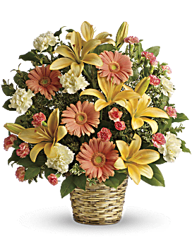 Soft Sentiments Bouquet Flower Arrangement