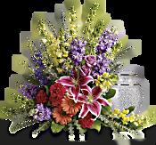 Shades Of Faith Flowers