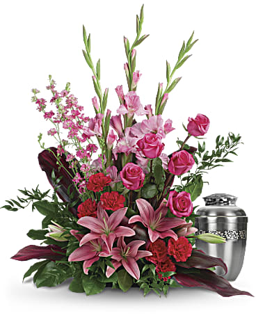 Adoring heart sympathy arrangement teleflora adoring heart sympathy arrangement mightylinksfo