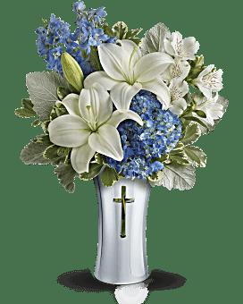 Teleflora's Skies Of Remembrance Bouquet Bouquet