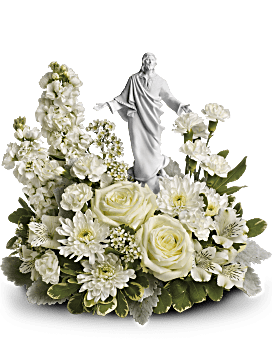 Teleflora's Forever Faithful Bouquet Flower Arrangement