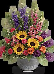 Teleflora's Hues Of Hope Bouquet Flowers