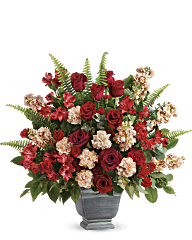 Teleflora's Bold Tribute Bouquet Flower Arrangement
