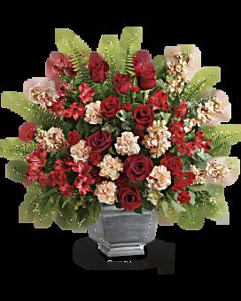 Teleflora's Bold Tribute Bouquet Flower Arrangement
