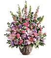Teleflora's Soft Blush Bouquet Flowers