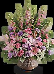 Teleflora's Soft Blush Bouquet Flowers