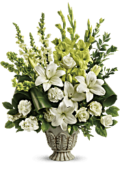 Teleflora's Clouds Of Heaven Bouquet Flowers