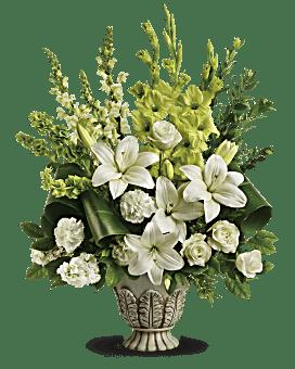 Teleflora's Clouds Of Heaven Bouquet Flower Arrangement