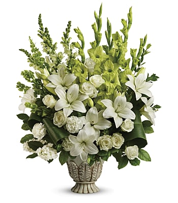 Teleflora's Clouds Of Heaven Bouquet Flowers