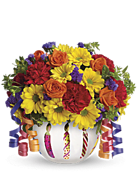 00458ed8eb081 Quick view Teleflora s Brilliant Birthday Blooms Bouquet