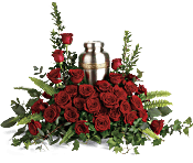 Forever In Our Hearts Cremation Tribute Flowers