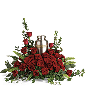 Forever In Our Hearts Cremation Tribute Sympathy Arrangement