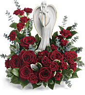 Forever Our Angel Bouquet by Teleflora Flowers