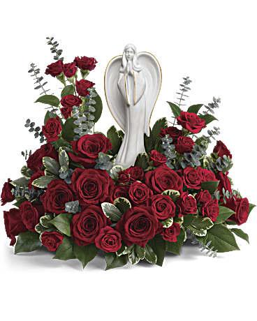 Forever Our Angel Bouquet by Teleflora Flower Arrangement