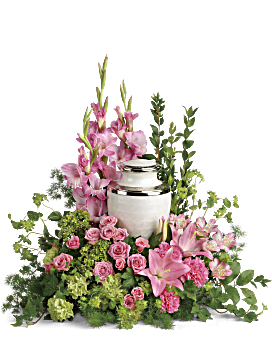Sacred Solace Cremation Tribute Sympathy Arrangement