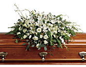 Grandest Glory Casket Spray Flowers