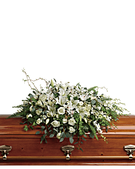 Grandest Glory Casket Spray Sympathy Arrangement