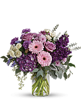 Magnificent Mauves Bouquet Bouquet
