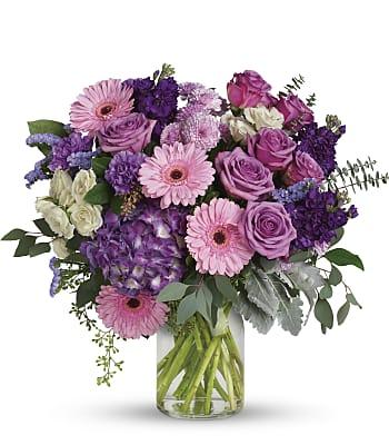 Magnificent Mauves Bouquet Flowers