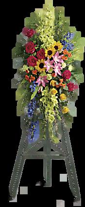 Love Lives On Spray Flowers