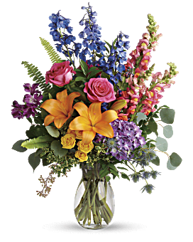 Colors Of The Rainbow Bouquet Bouquet