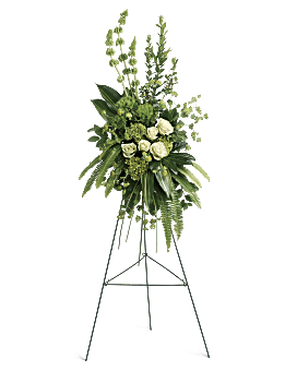 Forever At Peace Spray Sympathy Arrangement