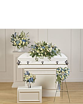 Teleflora's Tender Remembrance Collection Sympathy Arrangement