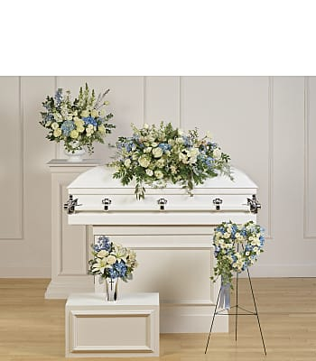 Teleflora's Tender Remembrance Collection Flowers