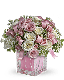 New Baby Flowers Gifts Baby Bouquet Delivery Teleflora
