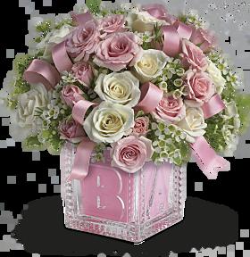 Crystal Baby Block Gift