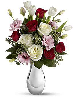 Teleflora's Love Forever Bouquet with Red Roses Bouquet