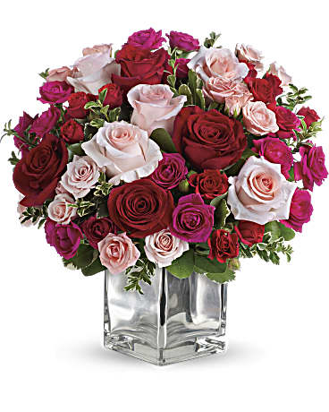 Teleflora S Love Medley Bouquet With Red Roses Teleflora