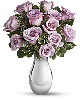 Teleflora's Roses and Moonlight Bouquet Bouquet
