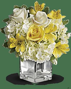 Arrangement floral La plus belle des aurores de Teleflora