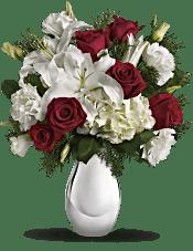 Teleflora's Silver Noel Bouquet Flowers
