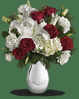 Bouquet Un Noël argenté de Teleflora