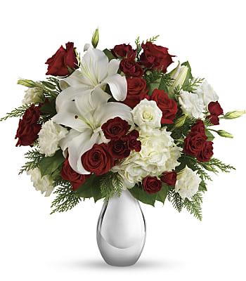 Silver Noel Bouquet Flowers