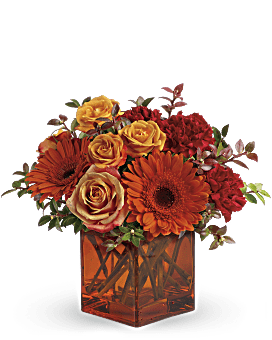 Teleflora's Sunrise Sunset Flower Arrangement