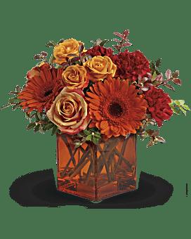 Arrangement floral Aurore et crépuscule de Teleflora