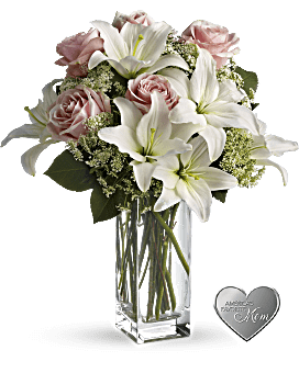 White flowers in beautiful arrangements teleflora quick view telefloras heavenly and harmony bouquet mightylinksfo