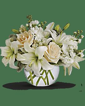 Bouquet Île de blanc